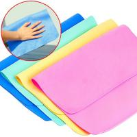 China 43*32cm synthetic chamois Clean Charm Magic Multipurpose Towel on sale