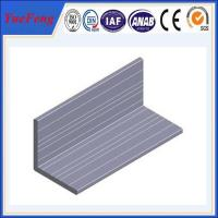 High quality Aluminum angle with ISO9001:2008 certificate Manufactures