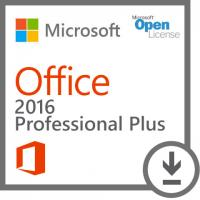 Microsoft Office 2016 Professional Plus - Open License Available Now Manufactures