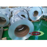 1060 Polish Silver Thin Aluminium Foil Roll Stock High Tensile Strength Manufactures