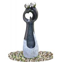 China Contemporary Garden Fountains , Statue Water Fountains Custom Design Acceptable on sale