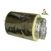 Quality Aluminum Foil Insulated Fiberglass Insulated Flexible Ducting For Air Conditioning for sale