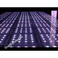 Optical Illusions Mirror Wedding Dance Floor , Light Up Floor Tiles MBI 5024 IC Manufactures