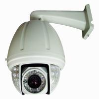 540TVL Water-resistant CCTV Outdoor Security Cameras 12VDC / 24VAC For Traffic Manufactures