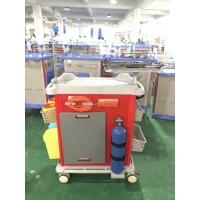 China Mute Wheel ABS Hospital Medicine Trolley on sale