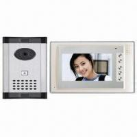 Video Door Phone with 7 Inches TFT-LCD Display Monitor Manufactures