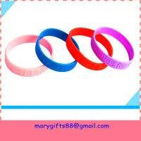China cheap debossed silicone bands on sale
