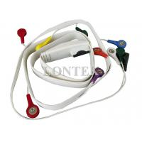China Mortala EKG / ECG Holter Cable With PVC Sheath And 10 Leadwire ISO on sale