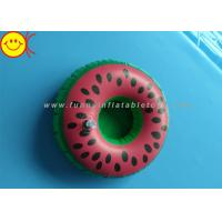 Buy cheap Watermelon Inflatable Water Floats / Pool Floats Customized Inflatable Cup Holder from wholesalers