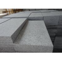 Buy cheap Flamed surface China Bianco Grey G602 Granite Tiles for outdoor paving from wholesalers