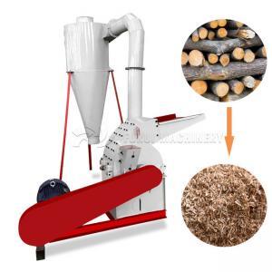 Hammer Mill Wood Crusher Machine / Wood Sawdust Making Machine 380v Manufactures