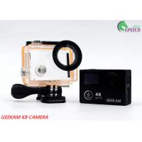 Compact 2 Inch Dual Screen 4k Waterproof Action Video Camera K8 360VR 170 Degree