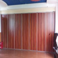 Auditorium Acoustic Operable Wall Aluminum Movable Partition Board For Hotel Manufactures