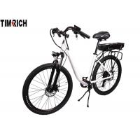 China 7 Speed Electric Bicycle Moped , Electric City Bike TM-KV-2630 Aluminium Alloy on sale