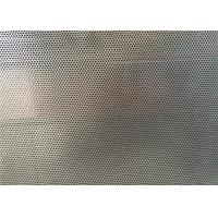 DVA Single Through Round Hole Aluminum Perforated Sheet For Construction