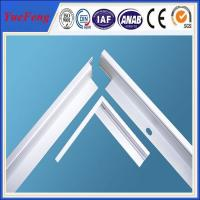 Aluminum Profile for PV Solar Panel Frame Manufactures