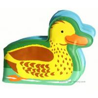 China Small Yellow Duck Waterproof Plastic Baby Bath Book EVA Early Learning Bath Books for Babies on sale