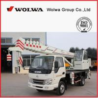 China manufacturer small wheel crane truck mounted crane with telescopic GNQY-C7 Manufactures