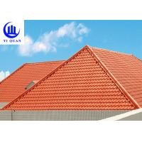 Versatile Building Materials Light Weight Spanish Synthetic Resin Roof Tile Manufactures