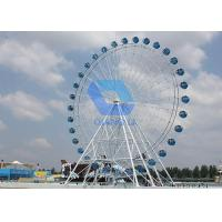 Outdoor Amusement Park Ferris Wheel / Electric Ferris Wheel With 72 Persons Manufactures