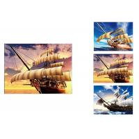 Buy cheap Waterproof 3D Lenticular Flip / Lenticular Photo Printing For Restaurant from wholesalers