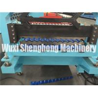 China 1.25 M Width Trapezoid Roof Panel Roll Forming Machine For Commercial Metal Buildings on sale