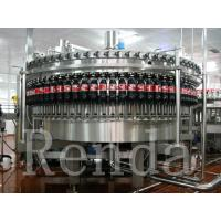 China PET Bottle Carbonated Drink Filling Machine With CO2 Mixing System Sprite Coca-Cola on sale