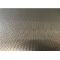 Nickel Plate Hexagon Metal Mesh 7% -83% Perforated Anti Acid Alkali For Making Chair Manufactures