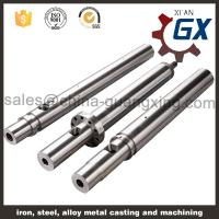 China Single plastic extruder machine screw barrel on sale