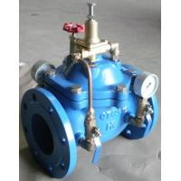 China Hydraulic Control Pressure Reducing Valves DN100 PN16 With Double Gauge on sale
