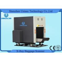Dual View Baggage Scanner Middle Size SF6550D Two Generator X-Ray Scanner Manufactures