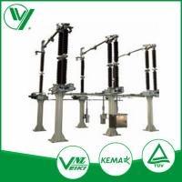 Vertical - Break High Voltage Isolator Switch Equipped With Insulators Manufactures