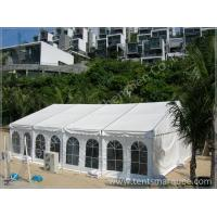 Activities Held in the White Fabric Roof Event Tent Preventing from Strong Sun Manufactures