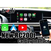 China Joystick Remote Control CarPlay Video Interface For Lexus  2018-2020 New Rc200t Rc300h on sale