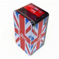 Quality Beatles style gift Rectangular Tin Box / tin cantainers 4c offset printing for sale