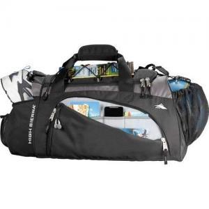 China 20 Buster Sport GYM Travel Duffel Bag Black High Sierra on sale