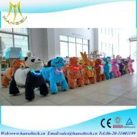 Hansel coin operated plush animal New Product Animal Zoo Ride Happy Rides Zoo Animal Scooter Manufactures