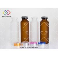 Glass Serum Small Glass Vials Frosted Glass For Steroid Injection Manufactures