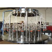 Full Automatically Bottle Juice Filling Machine Juice Bottle Filler Machine CE / ISO Manufactures