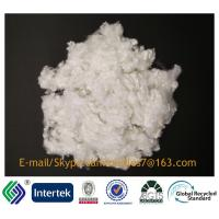 7D/64MM siliconized raw white  A Grade hollow conjugated 100%polyester staple fiber Manufactures