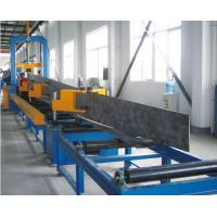 Buy cheap Durable Automatic Welding Machine , H Beam Production Line Steel Structure from wholesalers