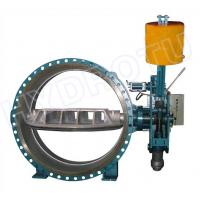 Quality Hydraulic Counter Weight Flanged Butterfly Valve With DN300- 3000 mm For Hydropower Project for sale