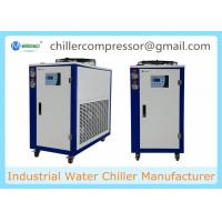208V 60Hz Portable Small Air Cooled 5hp Glycol Chiller for Beer Processing Manufactures