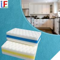 LF01K New Fashion Stain Remover Product Kitchen White Magic Cleaning Sponge Manufactures