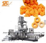 Safety Corn Puff Making Machine / Advanced Granola Bar Production Line