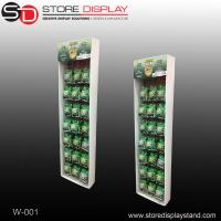 custom wall hanging carton paper display for bottles Manufactures