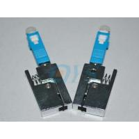 China Receptacle Type Bare Fiber Optic Adapter SC , High Stability on sale