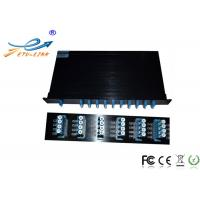 China 1RU Rackmount 24 Channel DWDM Mux Demux Low Insertion Loss With LC / UPC Connectors on sale