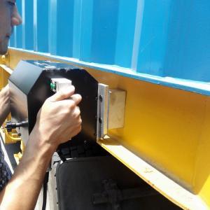 Pneumatic Controller Dot Pin Marking Machine / Dot Metal Stamp Machine Usb Connection Manufactures