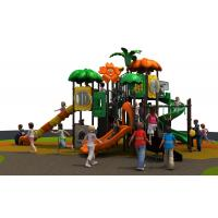 Kids Plastic Outdoor Play Equipment , Outdoor Preschool Equipment Manufactures